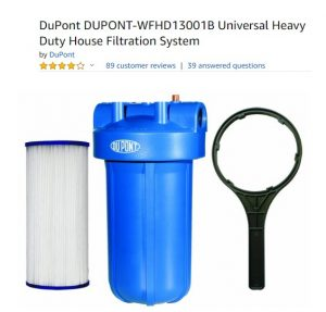 DuPont DUPONT-WFHD 13001B Universal Heavy Duty House Filtration System