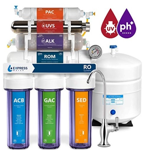Express Water Alkaline Reverse Osmosis Filtration System 11 Stage RO 2
