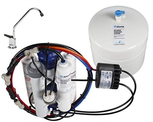 Home Master TMHP HydroPerfection Undersink Reverse Osmosis Water Filter System 2