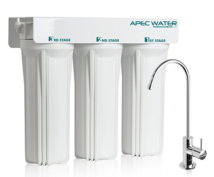 APEC WFS-1000 Super Capacity 3-Stage Under Sink Filter