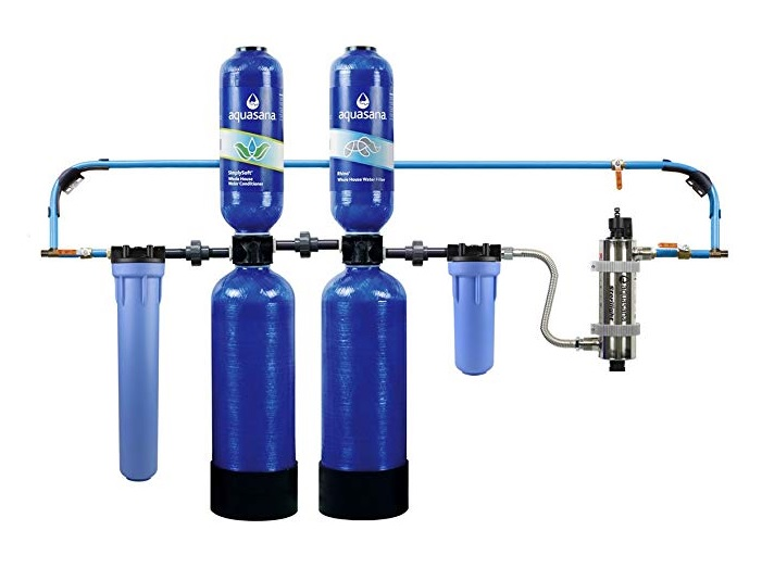 Aquasana 10 year 1 million gallon whole house water filter with UV