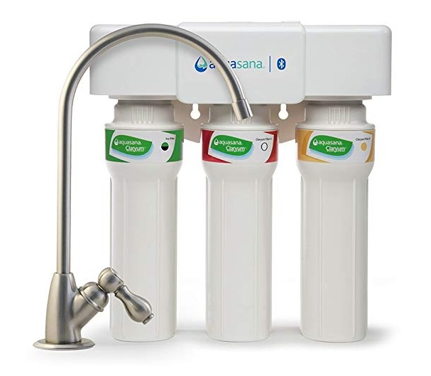 Aquasana 3-Stage Max Flow Claryum Under Sink Filter