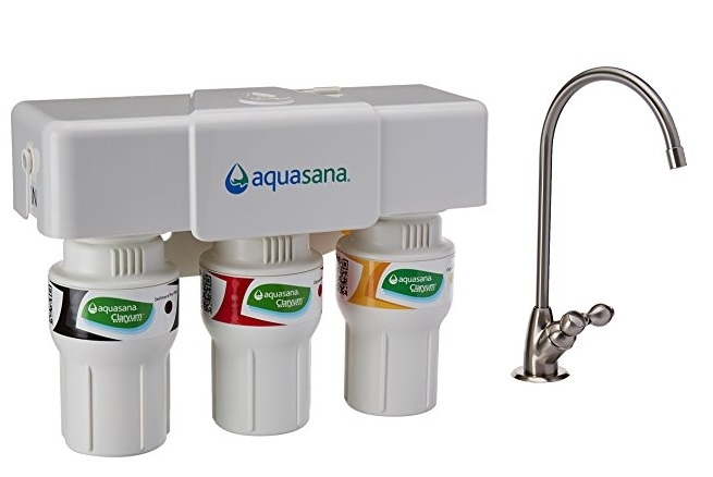 Aquasana AQ-5300 Claryum 3-Stage Under Sink Filter