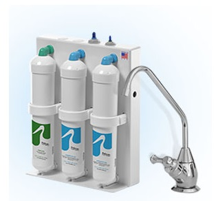 Pelican 3-Stage Under Sink Drinking Water Filter