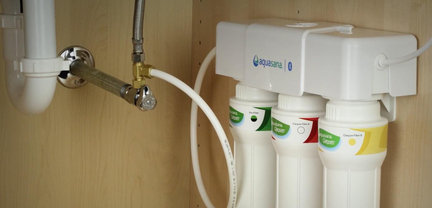 Aquasana Claryum 3-Stage Max Flow Under Sink