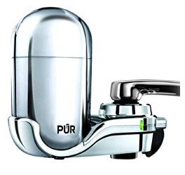 PUR FM-3700 Advanced Faucet Water Filter Chrome
