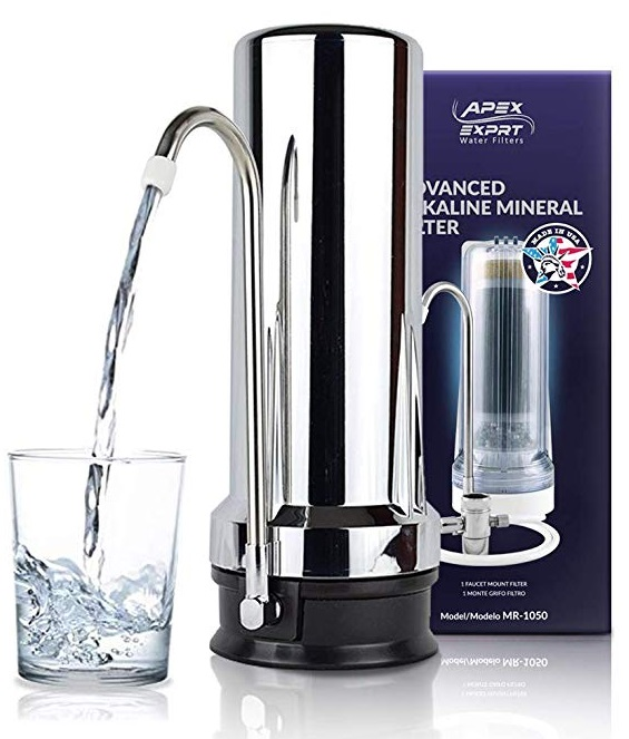 Best Countertop Water Filters - APEX MR-1050