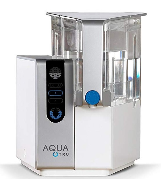 Best Countertop Water Filters - AquaTru Countertop Water Filtration Purification System